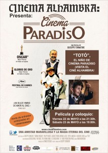 Cinema Paradiso Cartel ES