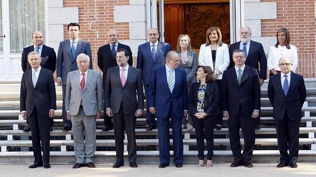 Ministros rajoy hora dificil 644x362 nosolocine for Ministros del gobierno