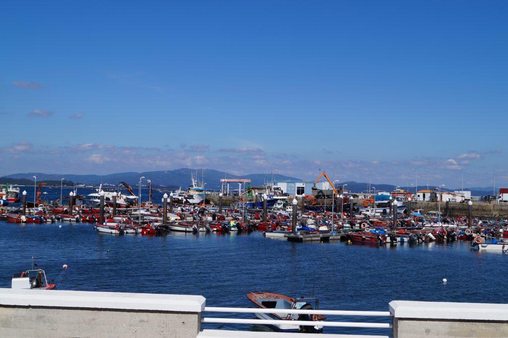 Puerto de la Isla de Arousa, foto Bianca Baust