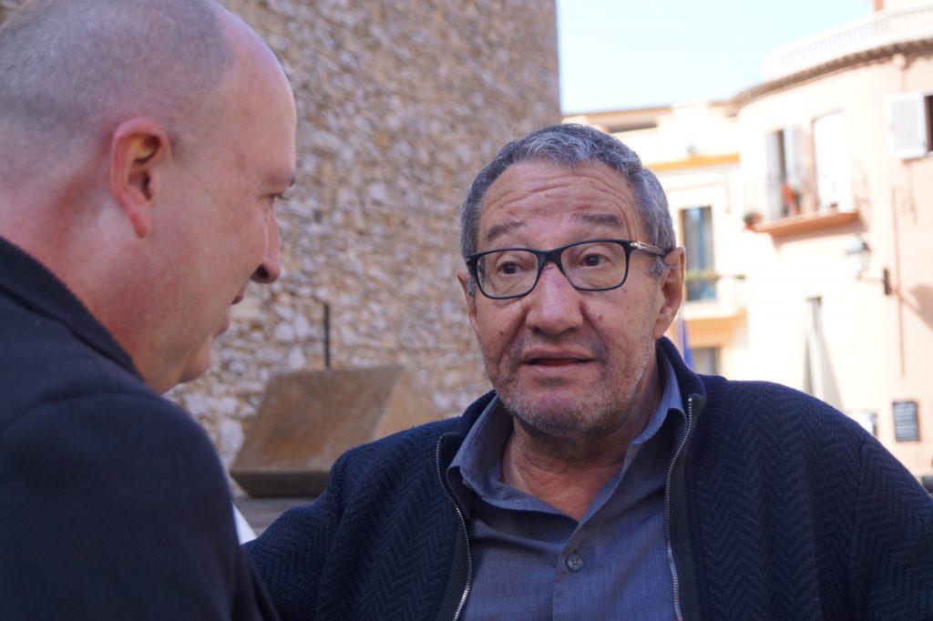 Carlos Boyero y JLP editor de nosolocine.net en Begur 2016