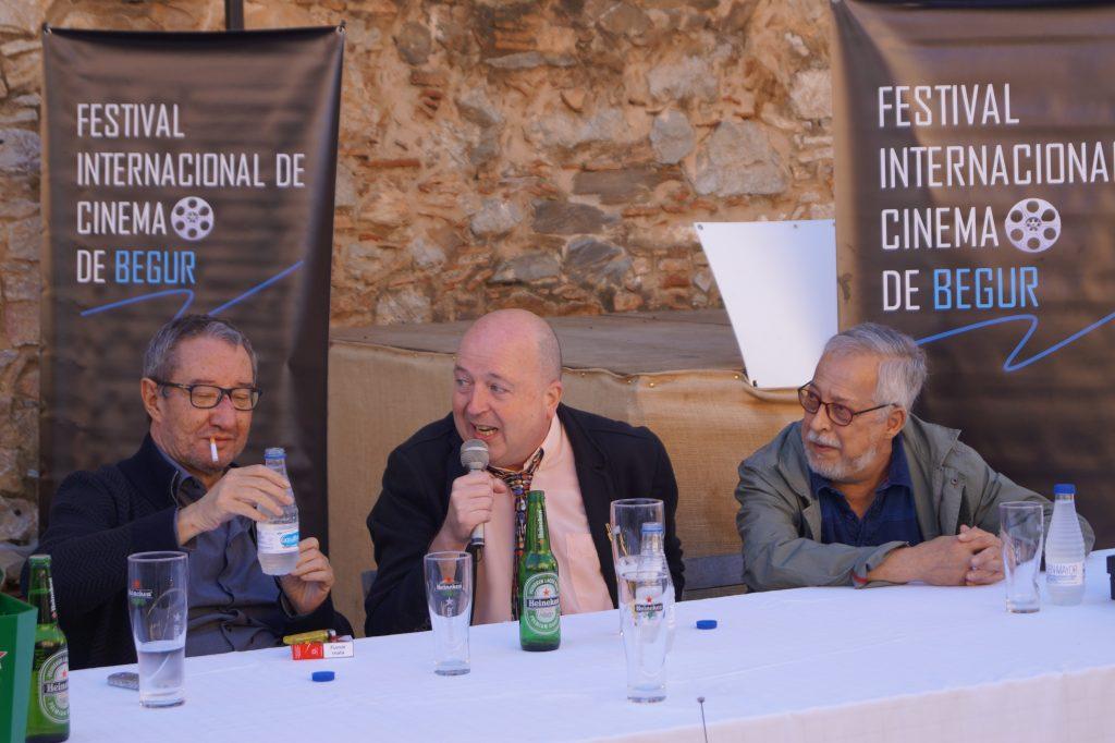 Foto de Bianca Baust sobre críticos de cine en Begur