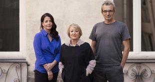 Terna Presidencial de la Academia de Cine 2016: Yvonne Blake, Mariano Barroso & Nora Navas © Academia de Cine/ Enrique Cidoncha