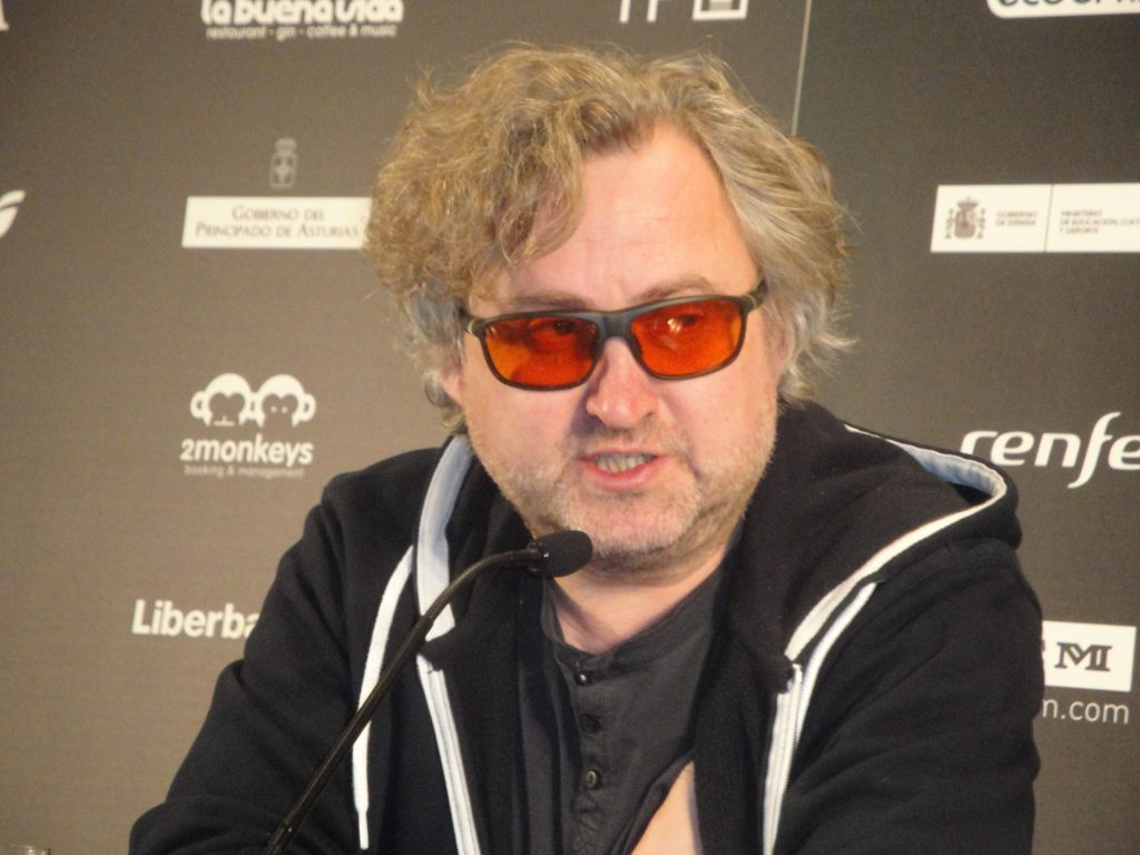 El cineasta checo Jan Hrebejk en el FICX 2016, foto de José López Pérez