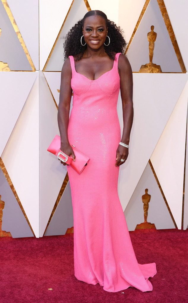 viola davis red carpet 2018