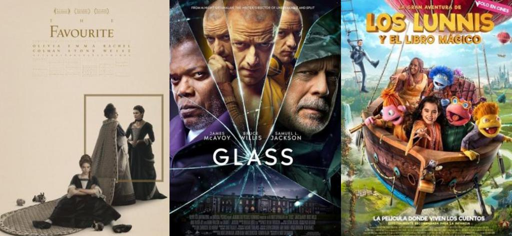 Las 10 películas más taquilleras en España, ayer (18-1