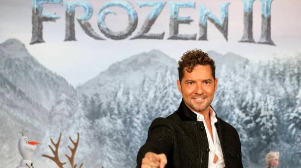 David Bisbal ficha por Frozen 2