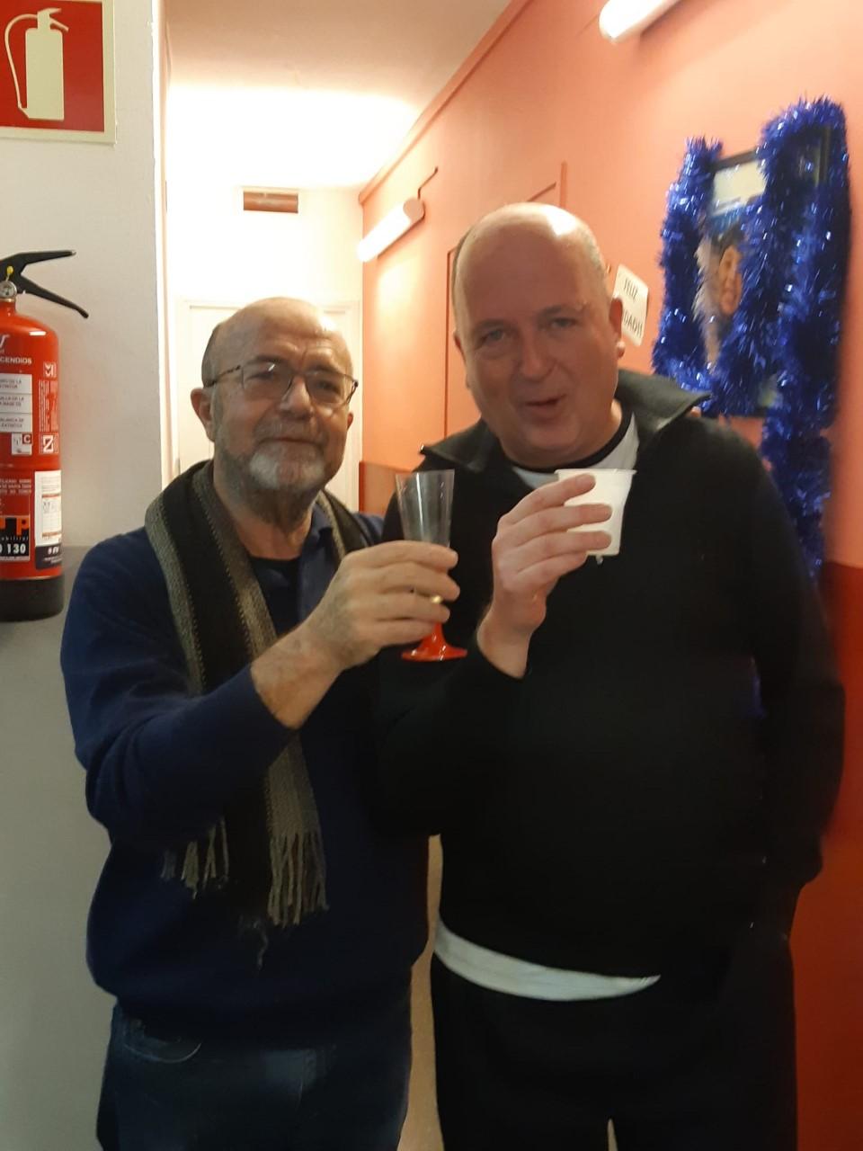 Jose Lopez y Lluis Cabrera