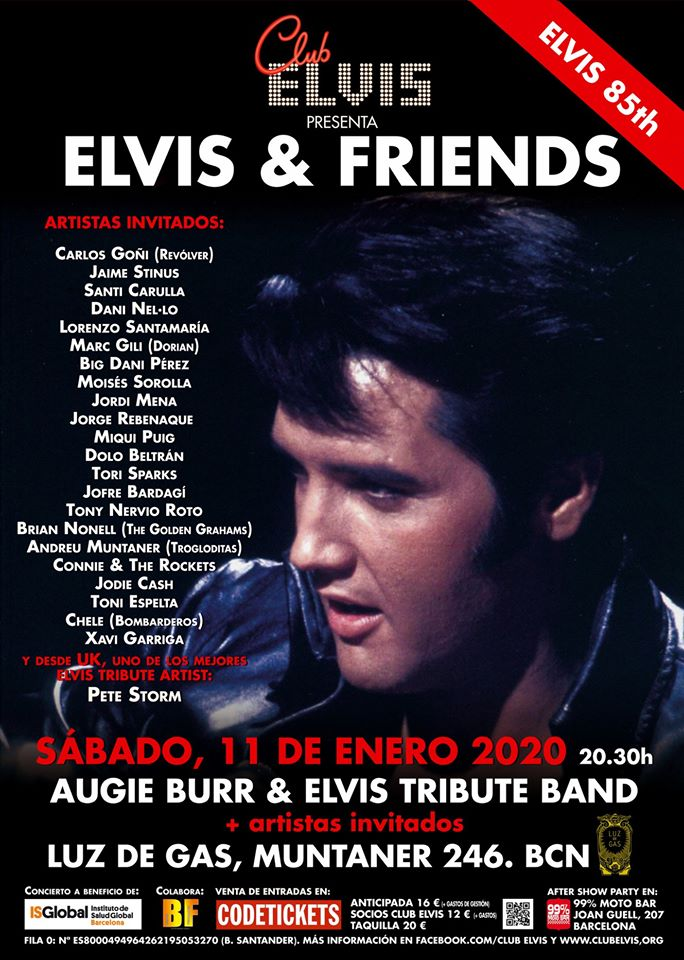 elvis and friends